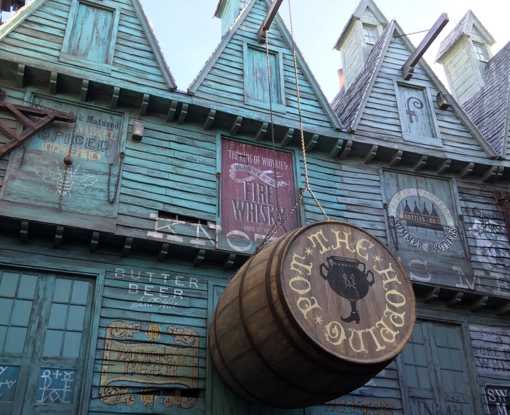 The Hopping Pot in The Wizarding World of Harry Potter - Diagon Alley.