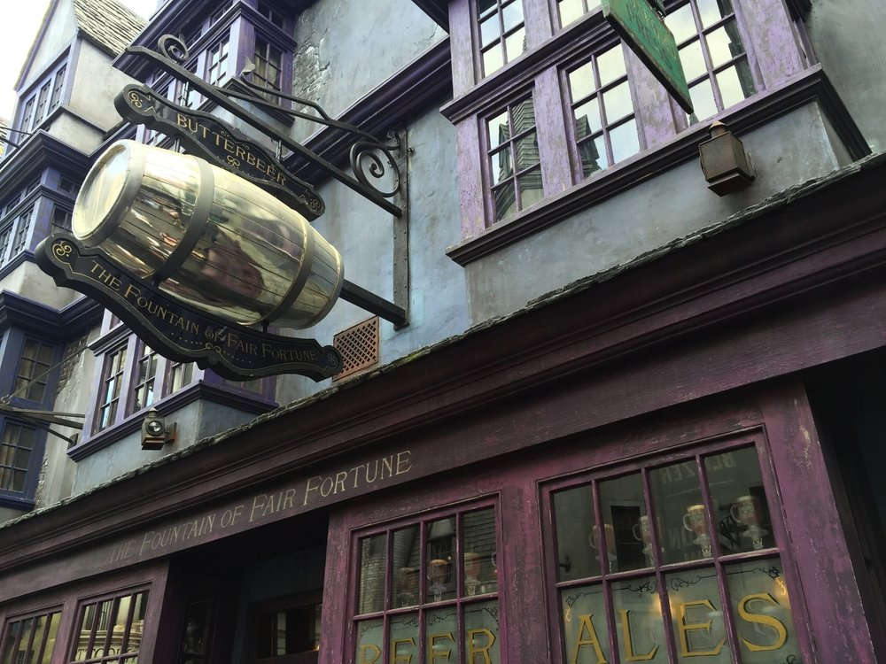 The Fountain of Fair Fortune in Diagon Alley.