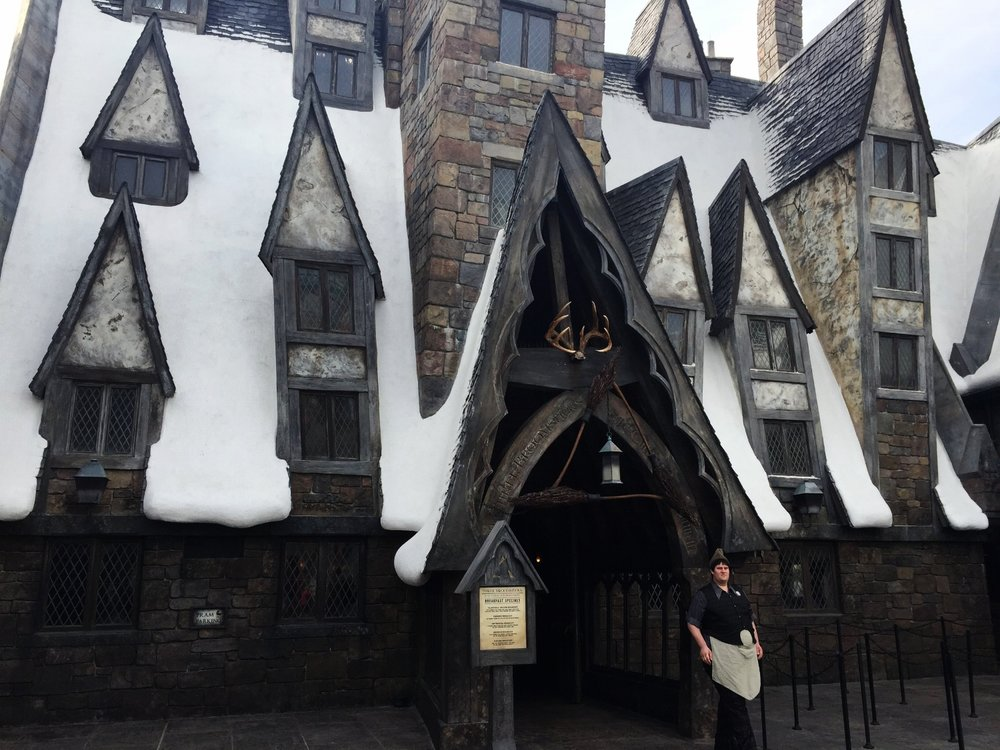 The Three Broomsticks in The Wizarding World of Harry Potter - Hogsmeade.