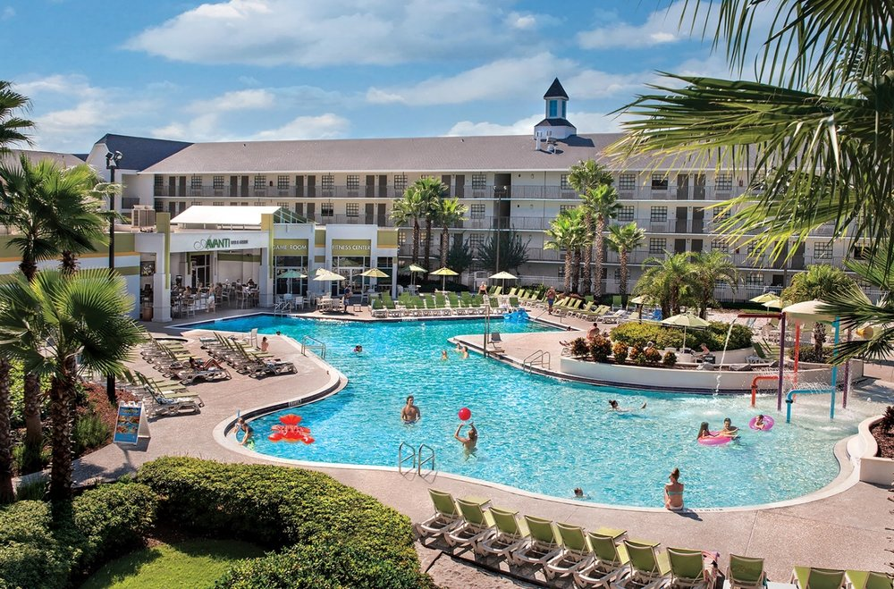 Avanti Resort on International Drive in Orlando. Image credit: Avanti Resort.