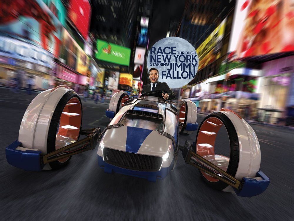 Race Through New York Starring Jimmy Fallon. Image credit: Universal Orlando Resort.