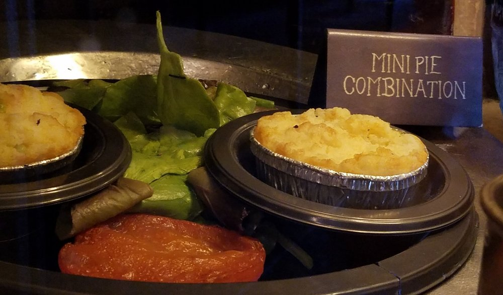 Mini Pie Combination at Leaky Cauldron