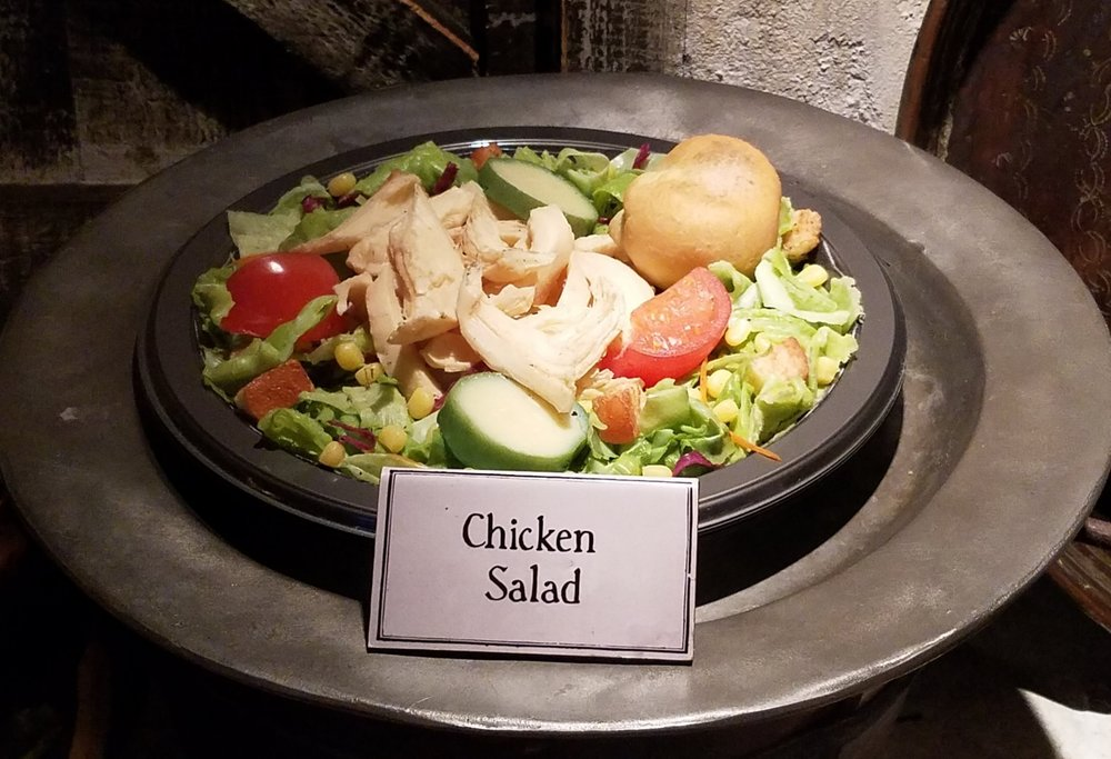 Chicken Salad at the Three Broomsticks