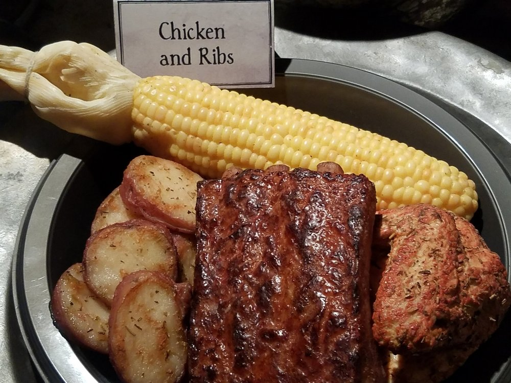 Chicken and Ribs at the Three Broomsticks
