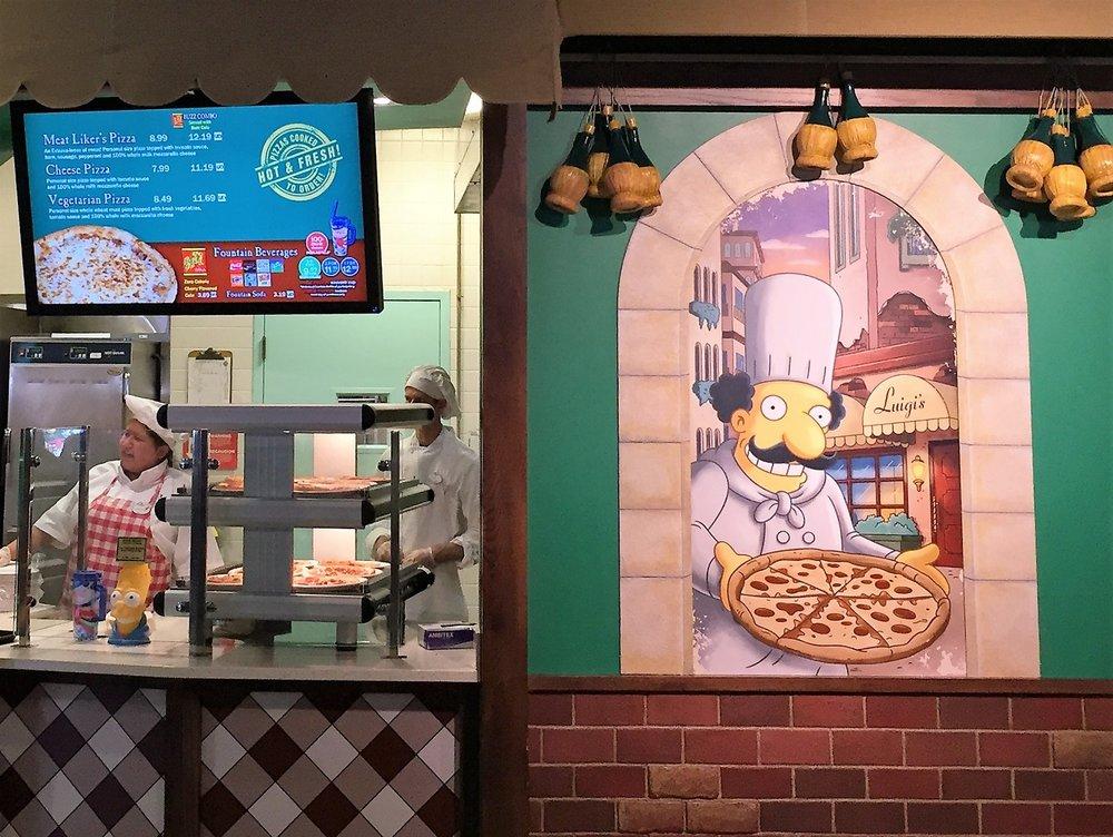 Luigi's Pizza in Universal Studios Florida.