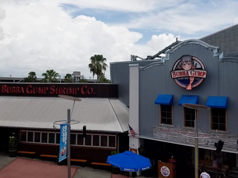 Bubba Gump Shrimp Co. is located in CityWalk.