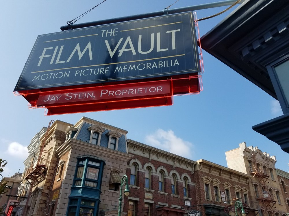 The Film Vault is located in the New York area of USF on the corner of Delancey Street and 7th Avenue.