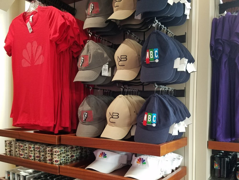 NBC merchandise in The Tonight Shop.