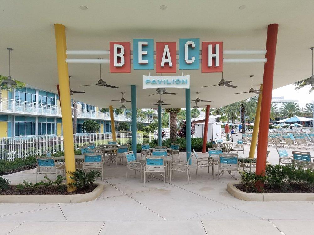The Beach Pavilion near the Courtyard pool.