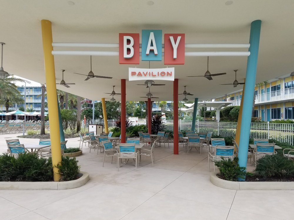 The Bay Pavilion near the Courtyard Pool.