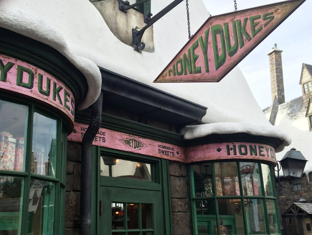 Honeydukes in the Wizarding World of Harry Potter - Hogsmeade