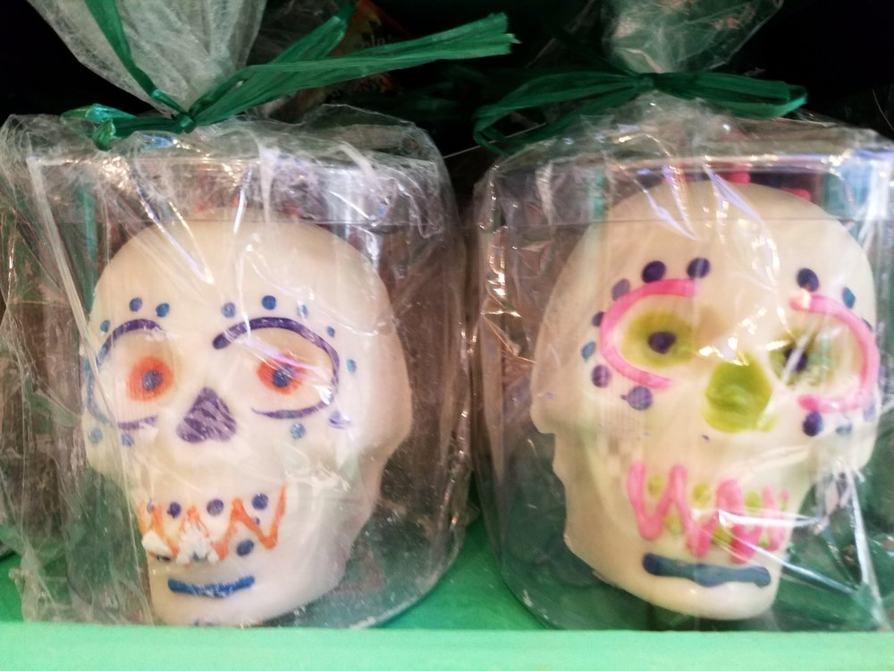 White Chocolate Skulls from Honeydukes