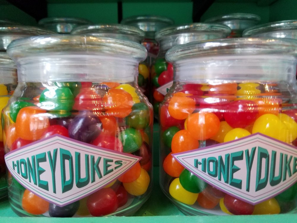 Assorted Fruit Balls from Honeydukes
