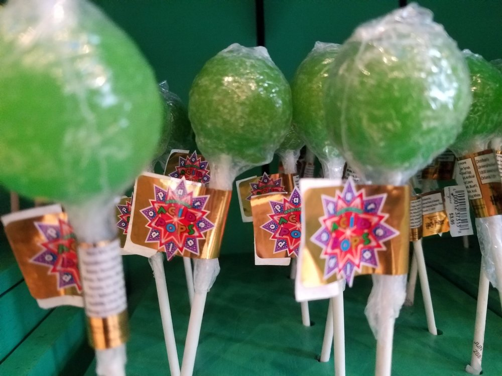 Acid Pops from Honeydukes