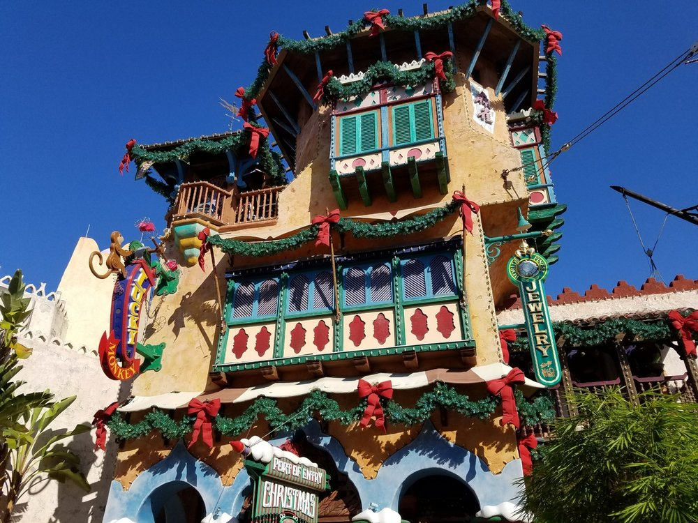 The Port of Entry Christmas Shoppe in Islands of Adventure