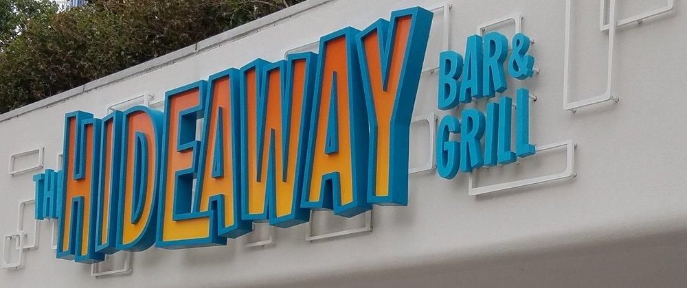 Hideaway Bar and Grill at Universal's Cabana Bay Beach Resort.