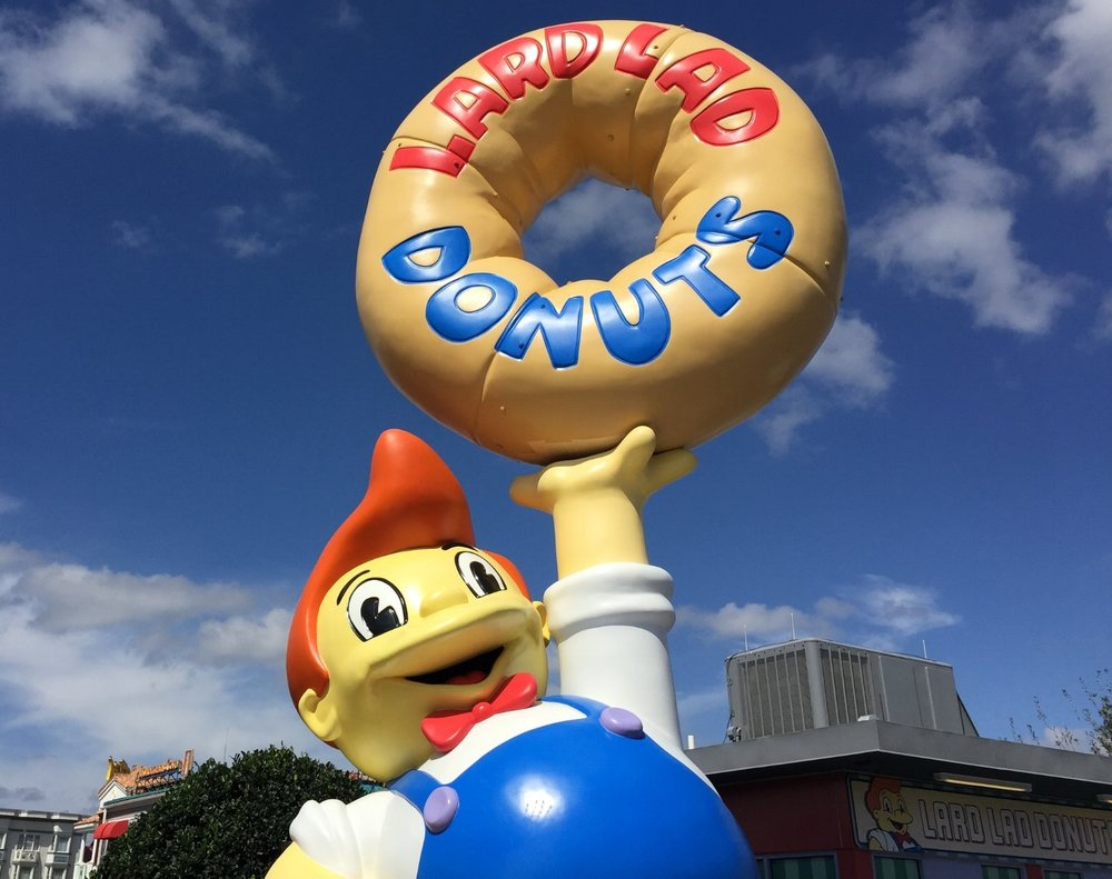 Lard Lad Donuts in Universal Studios Florida.