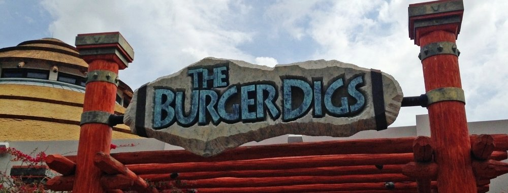 The Burger Digs at Jurassic Park in Universal Studios Florida.