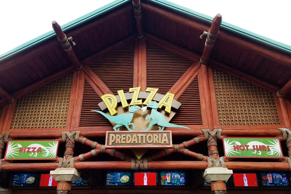 Pizza Predattoria in Universal's Islands of Adventure in Orlando.