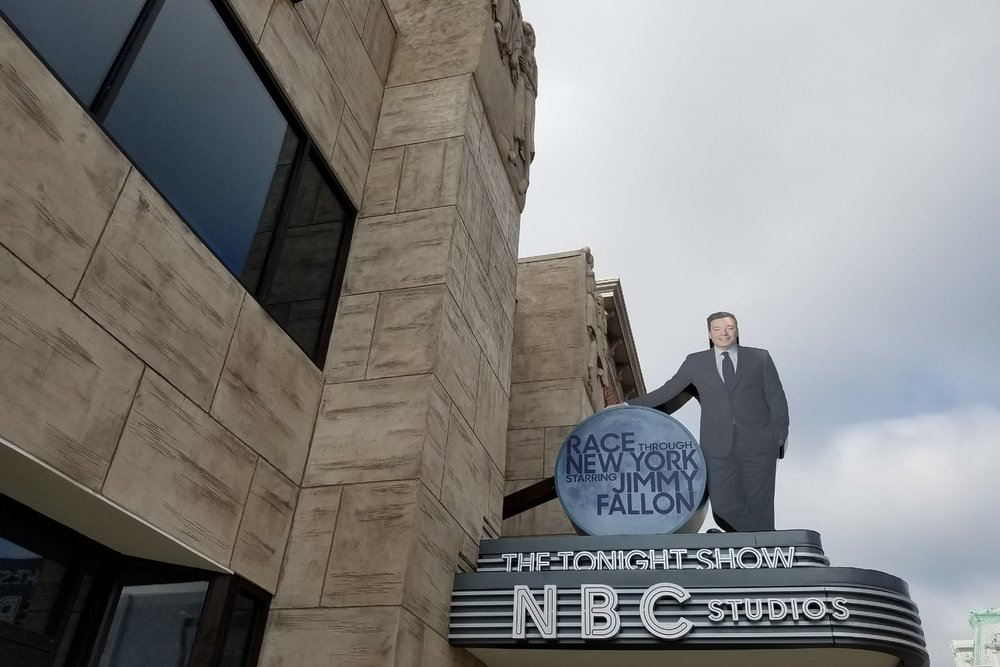 Coming in 2017 to Universal Studios Florida - Race Through New York Starring Jimmy Fallon.