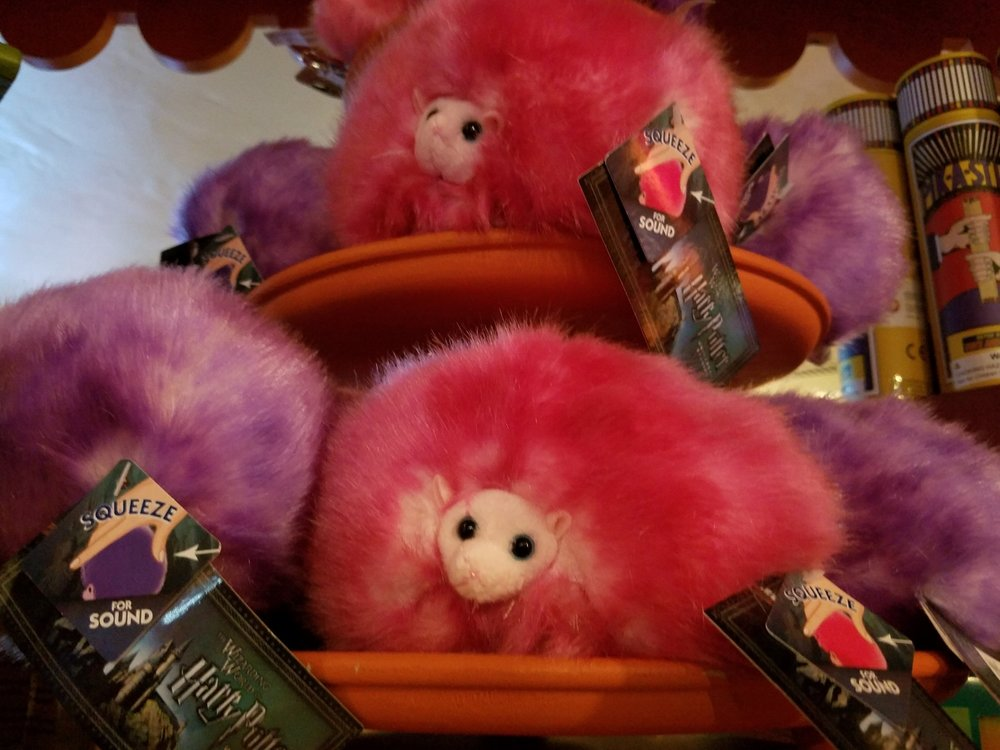 Pygmy Puffs for sale at Weasley's Wizard Wheezes.