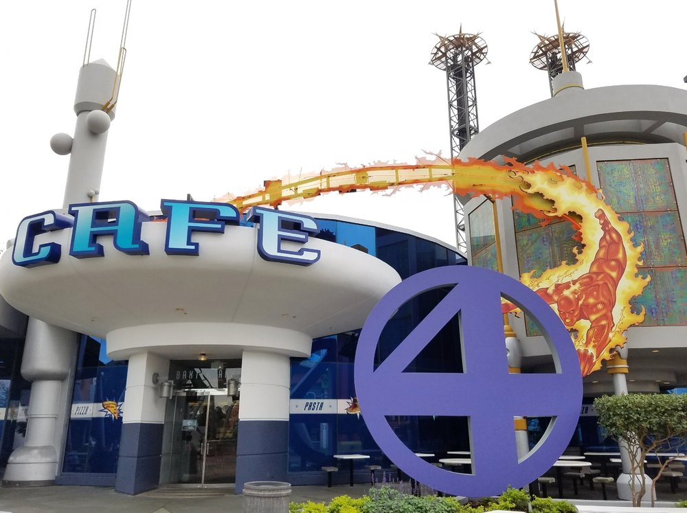 Cafe 4 in Marvel Super Hero Island in Universal's Islands of Adventure