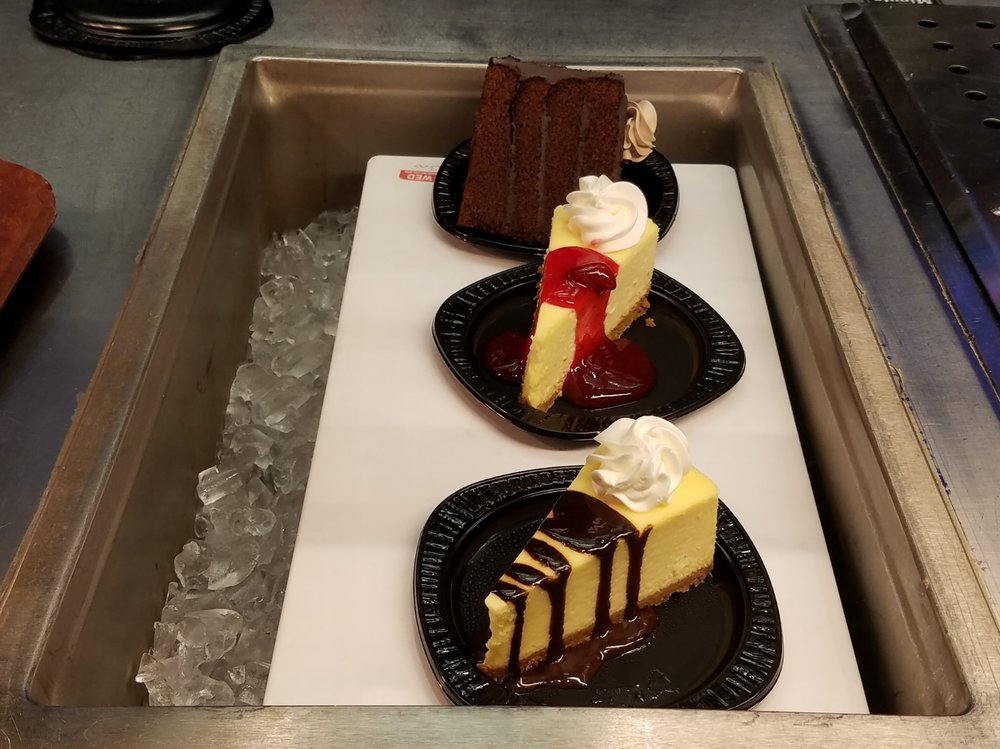 Desserts at Cafe 4