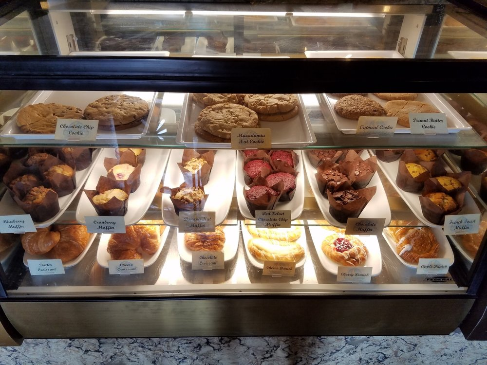 Pastries at Croissant Moon Bakery