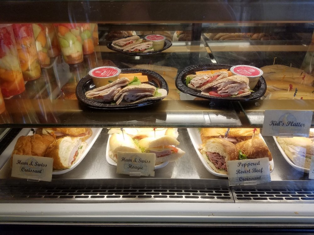 Sandwiches at Croissant Moon Bakery