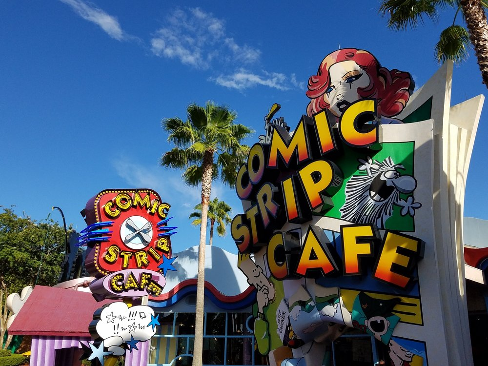 Comic Strip Cafe in Universal's Islands of Adventure