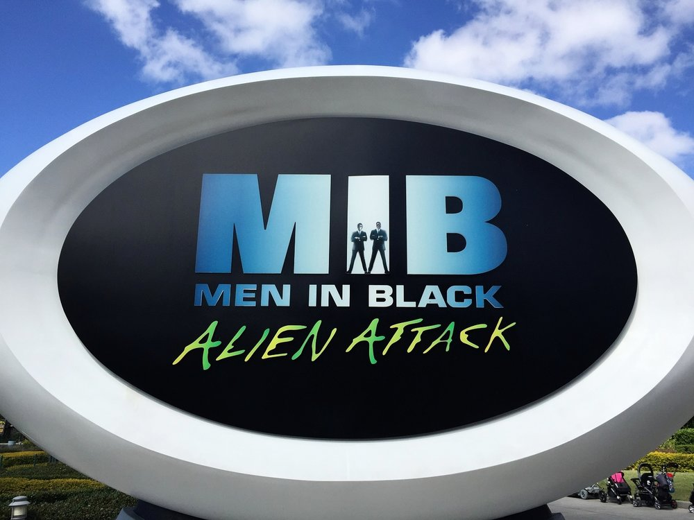 MIB: Alien Attack - Interactive Dark Ride