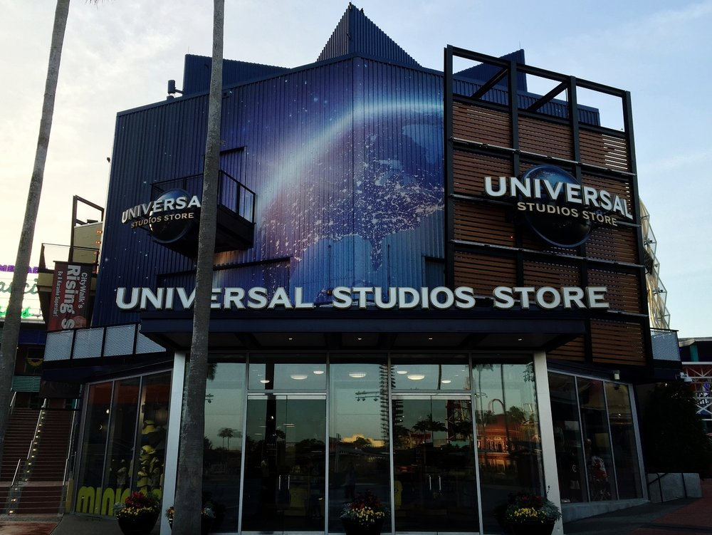 The Universal Studios Store in CtyWalk Orlando.