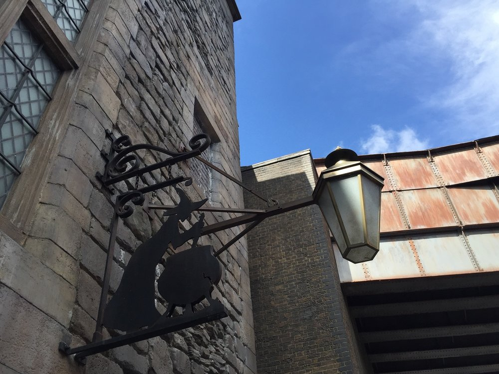 Leaky Cauldron Menu -