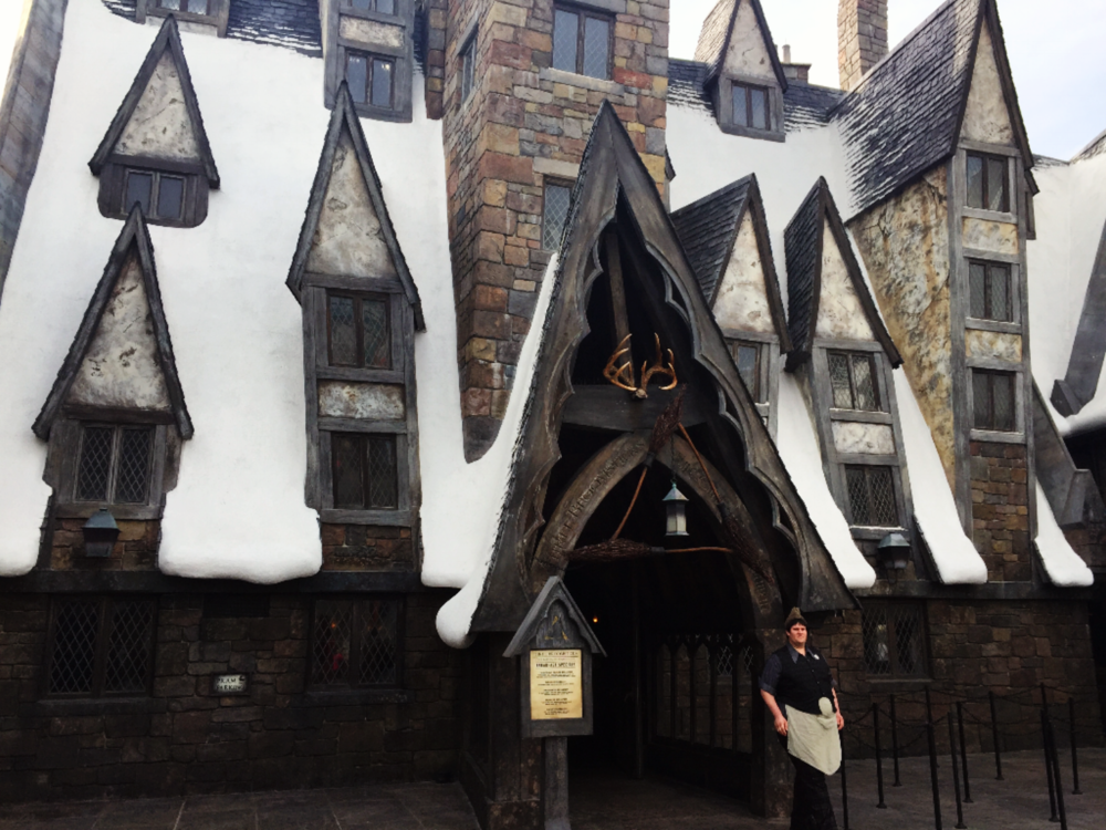 Three Broomsticks Menu -