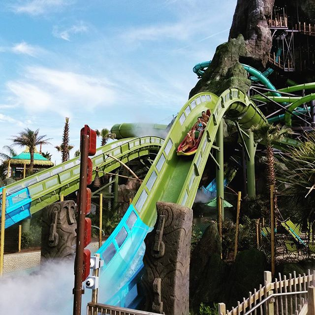 I would rather be... #VolcanoBay #UniversalOrlando #UniversalMoments #Vacation