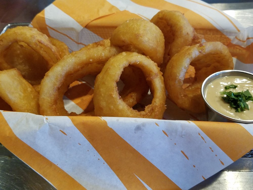 Onion Rings from NBC Sports Grill and Brew