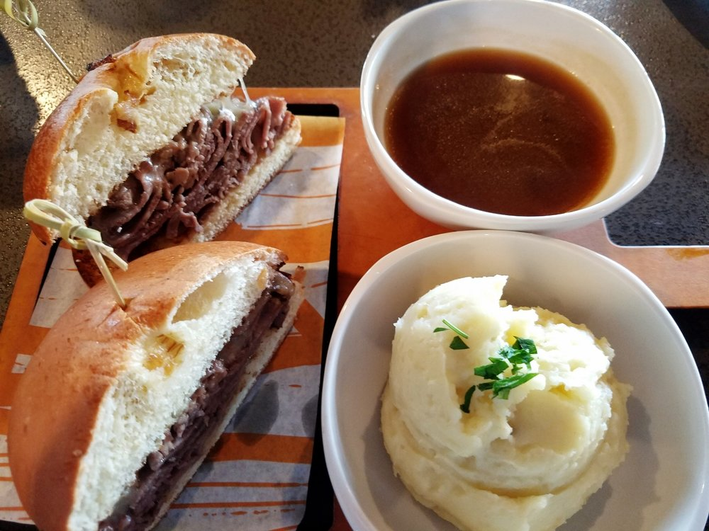 French Dip from NBC Sports Grill and Brew
