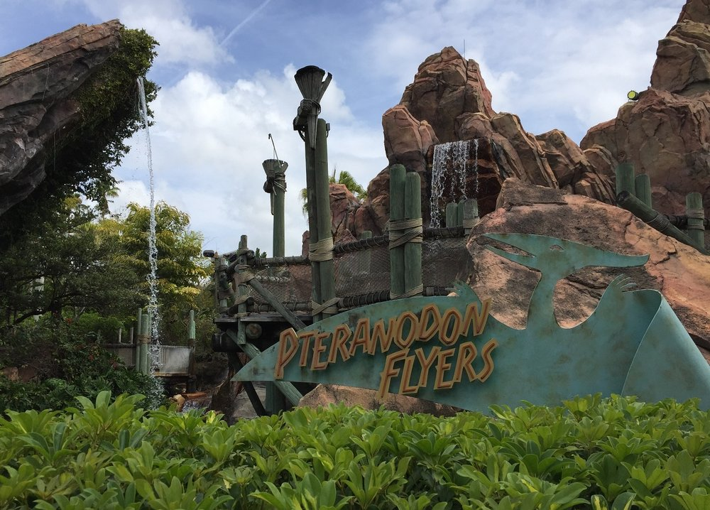 Pteranodon Flyers is located in Camp Jurassic