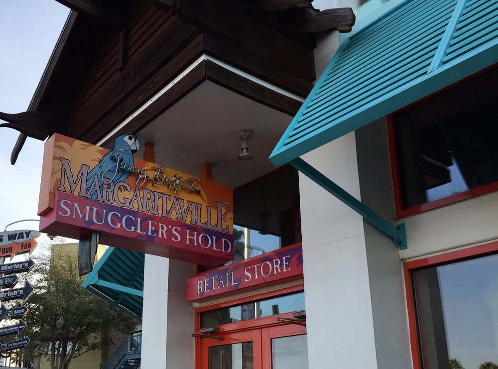 The Smuggler's Hold gift shop is located by the restaurant.
