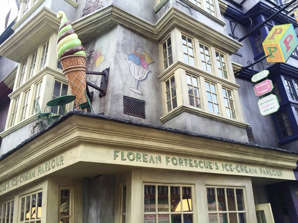 Florean Fortescue's - Ice Cream Parlor