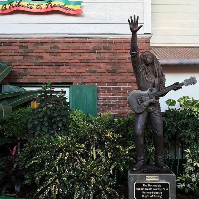 If we were at Universal today, we'd be paying tribute to Bob Marley by visiting  Bob Marley: A Tribute to Freedom in CityWalk. #HappyBirthday #BobMarley #Reggae #ReadyForUniversal #UniversalOrlando #CityWalk #UOAP #Florida