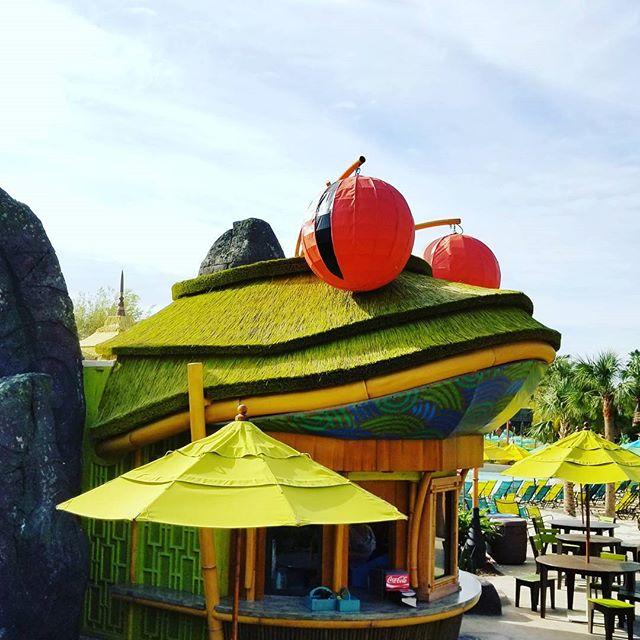 Have you eaten at the Feasting Frog in Universal's Volcano Bay? #UniversalOrlando #VolcanoBay #UOAP #UniversalMoments #ReadyForUniversal