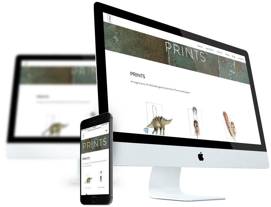 Responsive Web Design for Artists