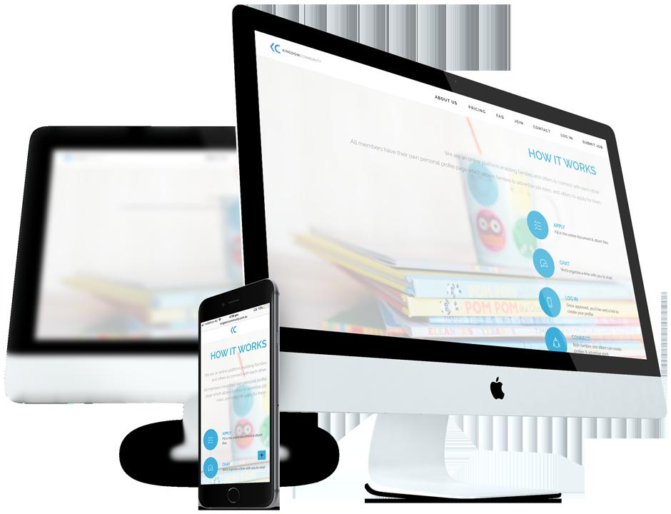 Responsive Website for kingdom community