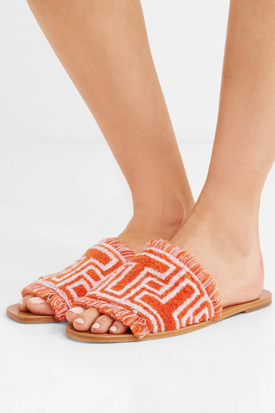 Tory Burch Terry Cloth Slides