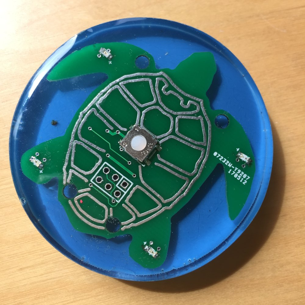 Watch a short video inside the Two Minute Turtle Timer workshop - designed to make toothbrushing fun!