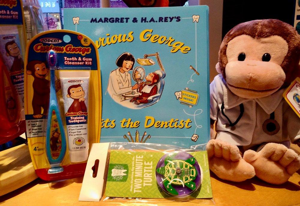 Curious George Makes Brushing Fun