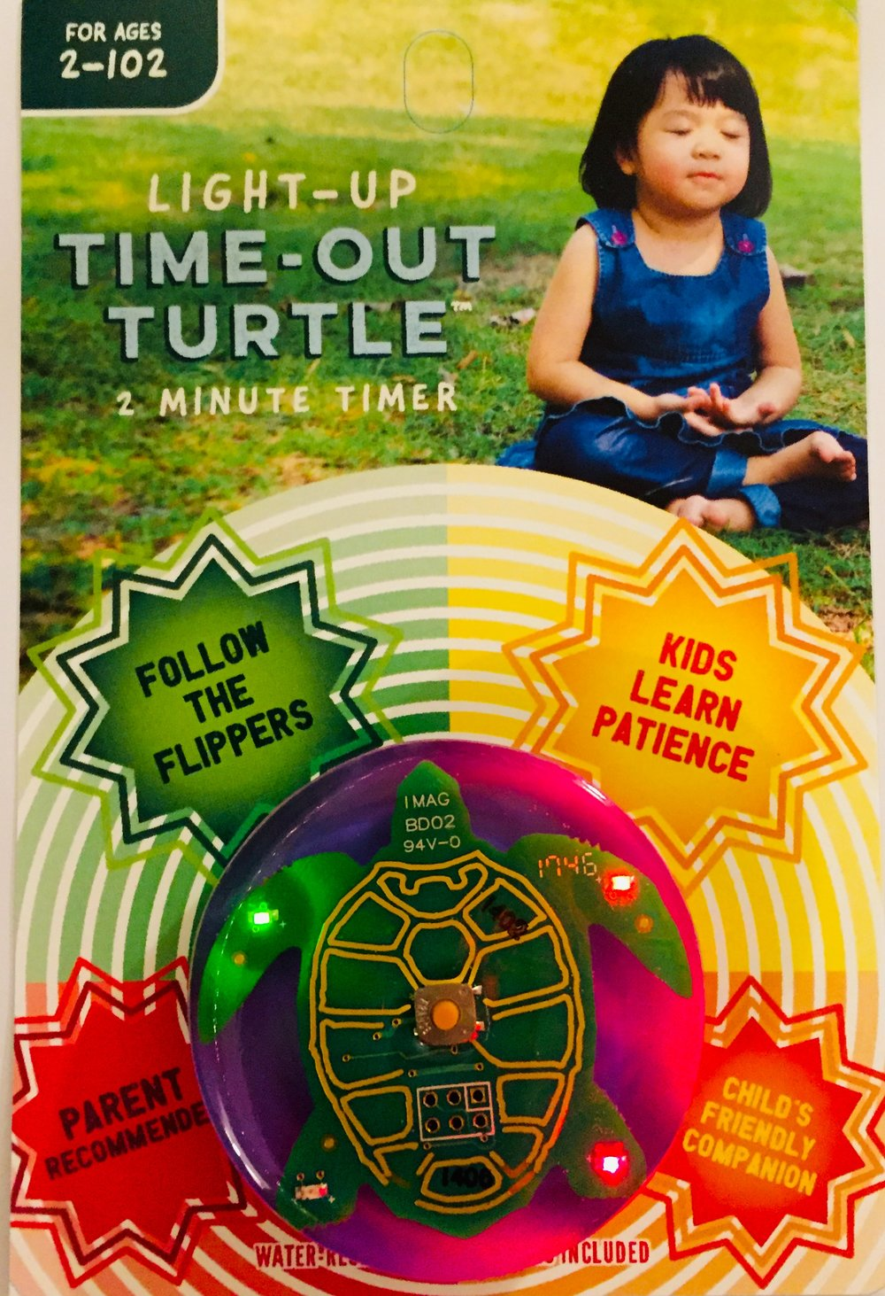 Two Minute Turtle Timer For Time Outs Too