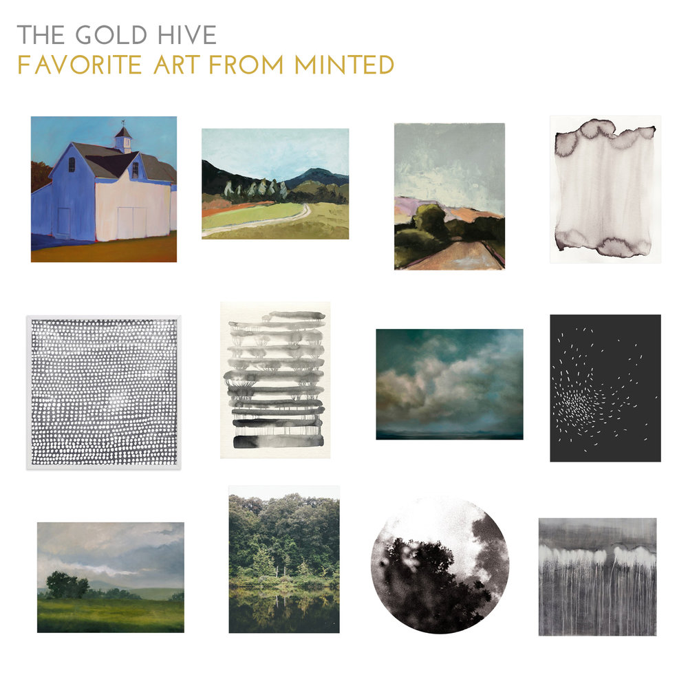 The Gold Hive Favorite Art from Minted
