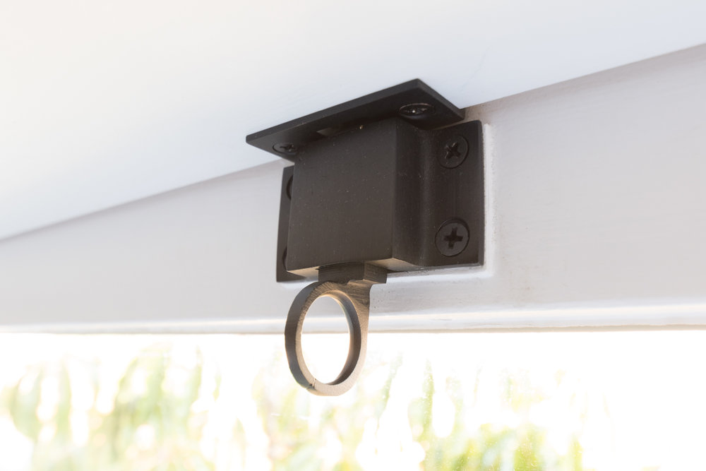 The Gold Hive - transom latch